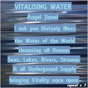 request for water